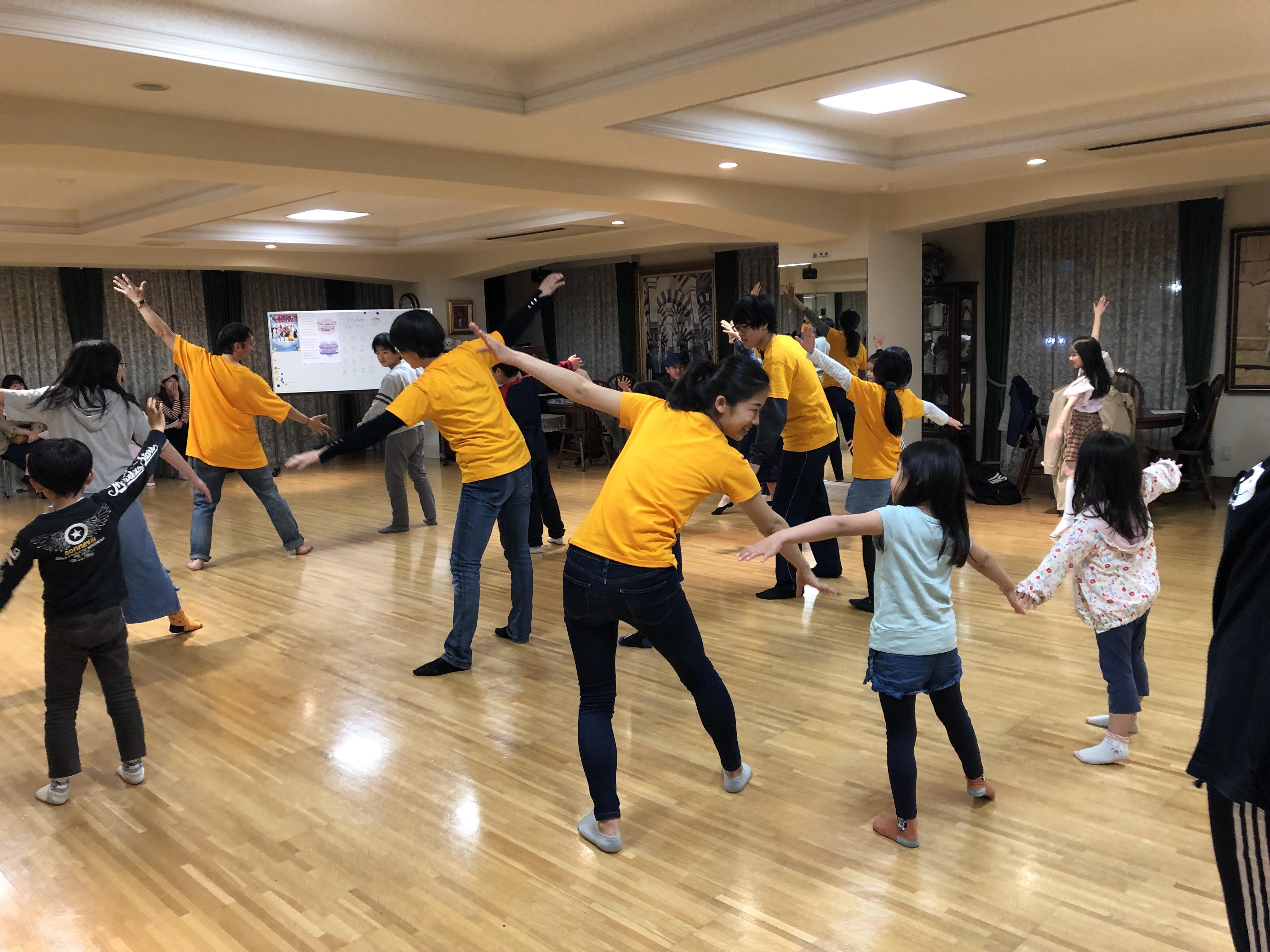 歌とダンスと国際交流ワークショップ♪